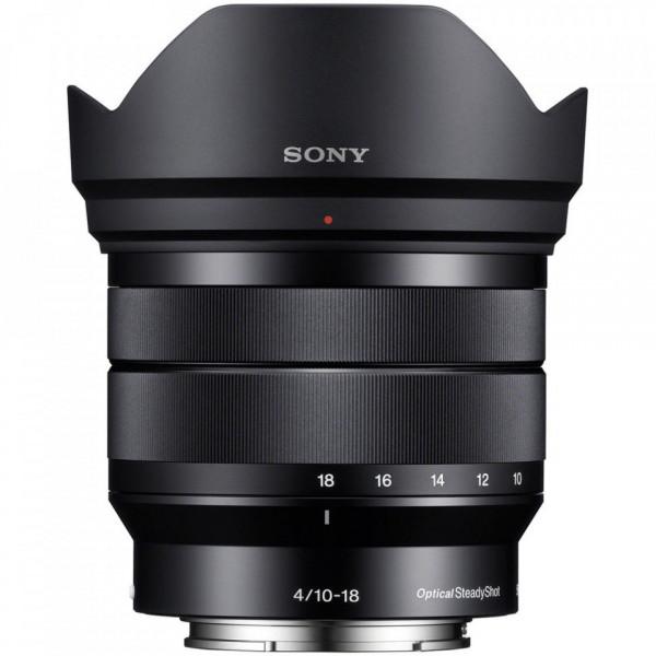 Obiectiv foto Sony E 10-18 mm f/4 OSS