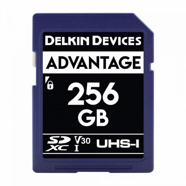 Card memorie 256GB DELKIN SD Advantage 660X UHS-I U3 (V30) R90/W90