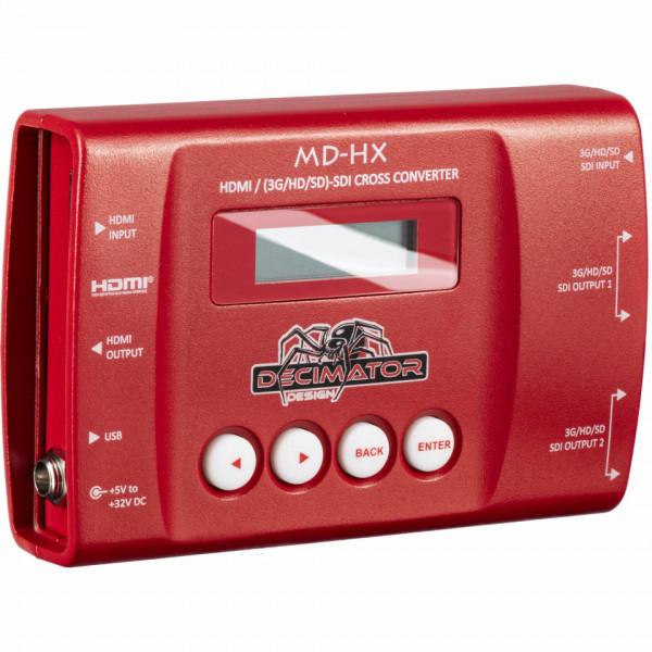 DECIMATOR MD-HX Miniature HDMI/SDI Cross Converter