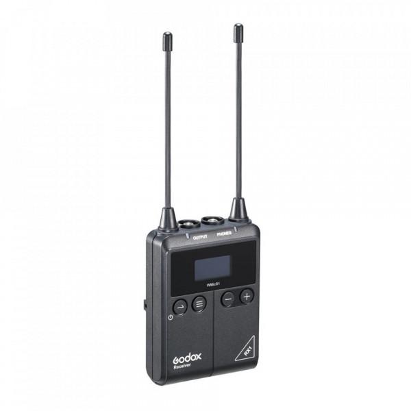 Godox RX1 Dual-Channel Camera-Mount Wireless Receiver (514-596 MHz)