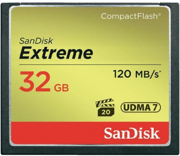 SanDisk Compact Flash Extreme 32GB UDMA 7
