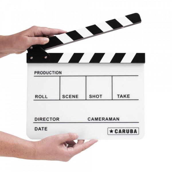 Caruba Professional Director Clapper White/BW