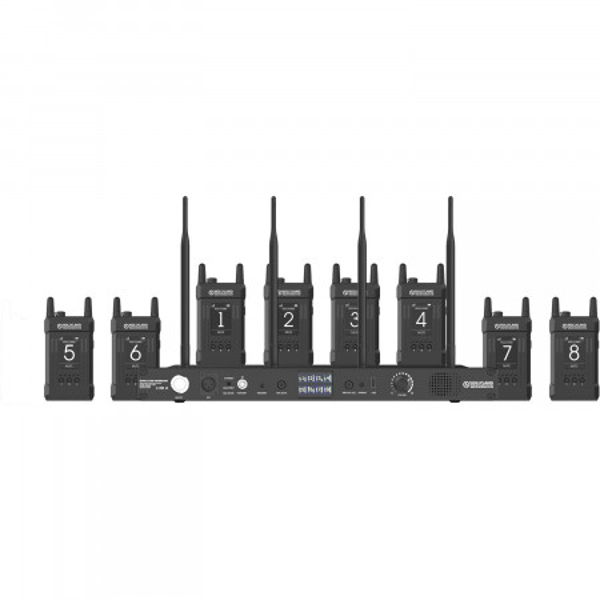 Sistem intercom Hollyland SYSCOM 1000T-8B
