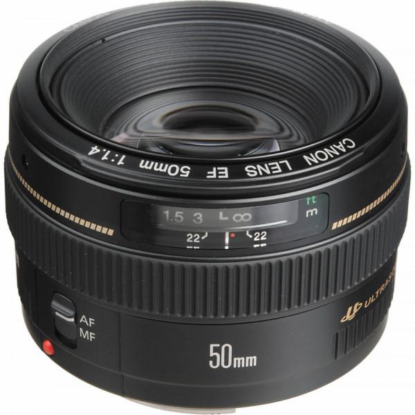 Canon EF 50mm f/1.4 USM - obiectiv foto