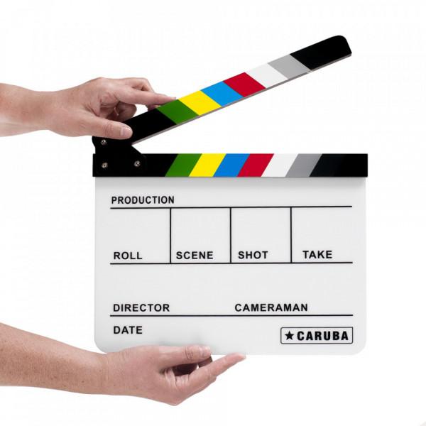 Caruba Professional Director Clapper White/Color