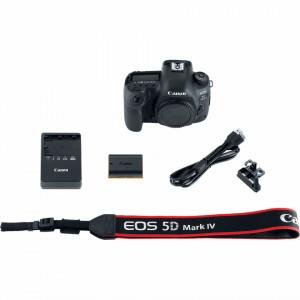 Canon EOS 5D Mark IV DSLR (Body)