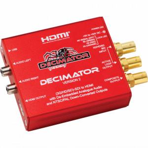 Decimator 2 Convertor 3G/HD/SD-SDI la HDMI