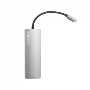 Hub USB C Caruba Premium 9 in 1 Space Gray