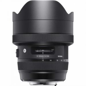 Obiectiv foto Sigma Art 12-24mm f/4 DG ASM Art pentru Nikon F