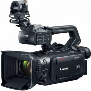 Camera video digitala 4K Canon XF400 cu Dual-Pixel Autofocus