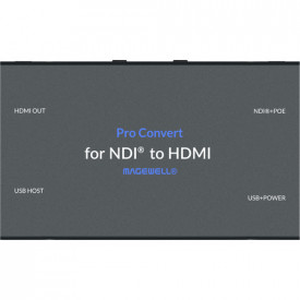Decodor Magewell HDMI la NDI Pro Convert