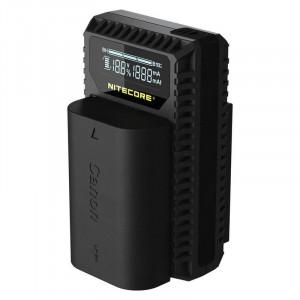 Încărcător USB Nitecore UCN1 pt acumulatori Canon (LP-E6/LP-E6N şi LP-E8)