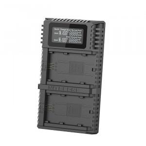 Incarcator USB Nitecore USN4 Pro Dual pentru acumulatori Sony NP FZ100