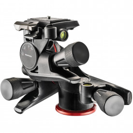 Manfrotto XPRO Geared 3-Way Cap Pan/Tilt - suporta 4 kg