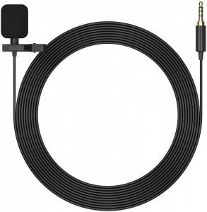 Microfon lavaliera Mirfak MC1P cu jack de 3.5mm