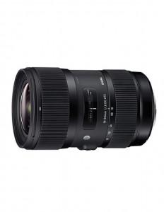 Obiectiv foto Sigma 18-35mm f/1.8 DC HSM Art Sony