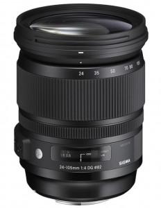 Obiectiv foto Sigma 24-105mm f/4 DG OS HSM Art - Canon