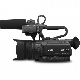 Camera Video JVC GY-HM200E 4K, Streaming, Zoom 12x