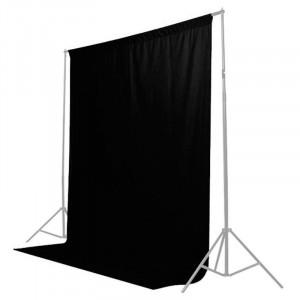 Fundal de pânză Caruba 2x3m (Negru