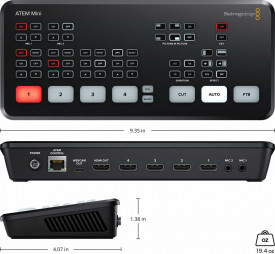Mixer video Blackmagic ATEM Mini