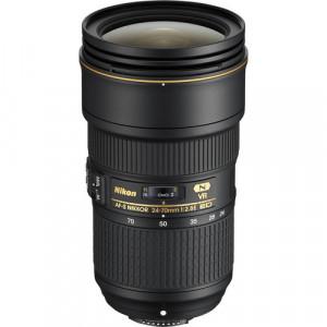 Obiectiv foto Nikon 24-70mm f/2.8E ED VR AF-S NIKKOR