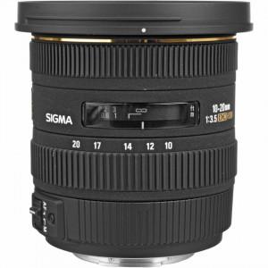 Obiectiv foto Sigma 10-20mm f/3.5 EX DC HSM - Canon