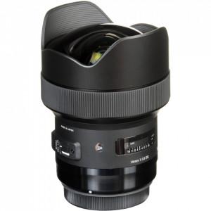 Obiectiv Sigma 14mm f/1.8 DG HSM Art pentru montura Canon