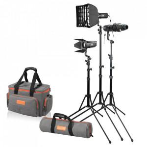 Kit Godox SA-D S30, 3 Lampi si Accesorii