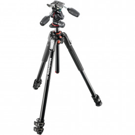 Kit trepied Manfrotto MK190XPRO3-3W