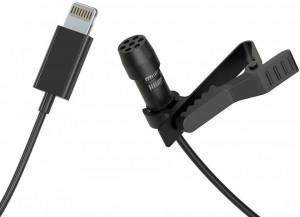 Microfon lavaliera Mirfak MC1P pentru iPhone, iPad, Mac cu conector Lighting