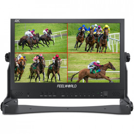 "Monitor QuadLink pentru Blackmagic ATEM MINI - Seetec / Feelworld 15.6"" IPS"
