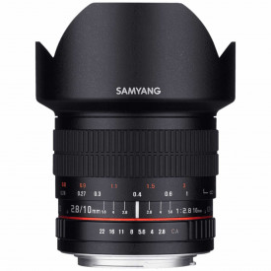 Obiectiv foto Samyang 10mm f/2.8 ED AS NCS CS, montura Nikon F (AE)