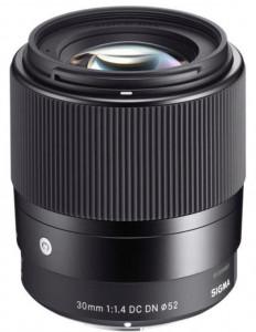 Obiectiv foto Sigma 30mm f/1.4 DC DN C MFT