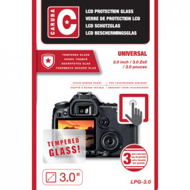 Sticla protectie Tempered - Caruba LCD Optical Glass Protector 3,0""