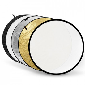 Godox blenda 5 in 1 Gold, Silver, Black, White, Translucent de 110cm