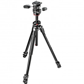 Kit trepied Manfrotto MK290DUA3-3W cu cap 3Way