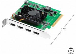 Blackmagic Design DeckLink Quad – Placa de Captura si redare HDMI