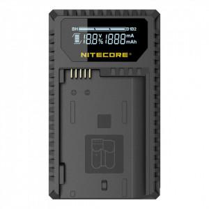 Incarcator USB Nitecore UNK1 pt acumulatori Nikon (EN-EL14/EN-EL14a si EN-EL15)