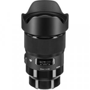 Obiectiv foto Sigma 20mm f/1.4 DG HSM Art - Sony E