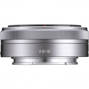 Obiectiv foto superangular Sony E F2,8 de 16 mm