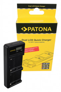 PATONA Dual LCD USB Charger - 1886