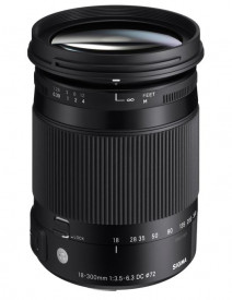 Sigma 18-300mm f/3.5-6.3 DC Macro OS HSM Contemporary - Nikon