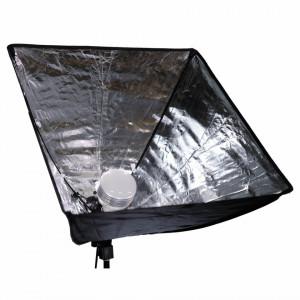 Caruba All-in-1 Set de lumină video (Softbox / LED-uri) - 60W