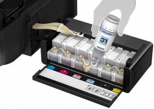 Imprimanta inkjet color CISS Epson L810