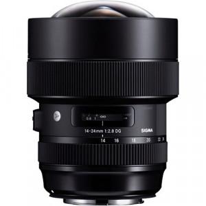 Obiectiv foto Sigma 14-24mm f2.8 DG HSM Art – Nikon