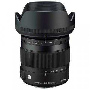 Obiectiv Sigma 17-70mm f/2.8-4 DC Macro OS HSM Canon