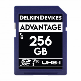 Card memorie 256GB DELKIN SD Advantage 660X UHS-I U3 (V30) R90/W90