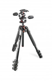 Kit trepied Manfrotto MK190XPRO4-3W