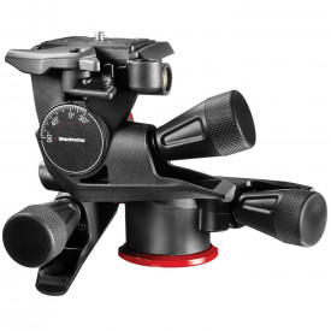 Manfrotto XPRO Geared 3-Way Cap Pan/Tilt - suporta 4 kg
