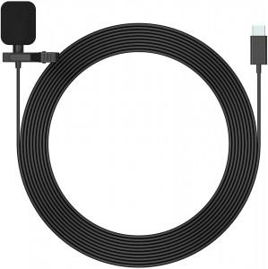 Microfon lavaliera Mirfak MC1P pentru Android cu USB tip C